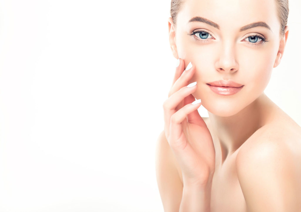 Gesunde Glatte Haut